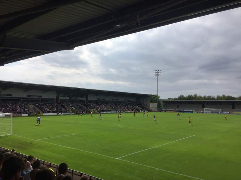 Seating view for Pirelli Stadium Section East Terrace