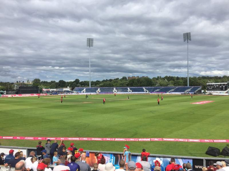 Seating view for Emirates Durham Section Don Robson Pavilion