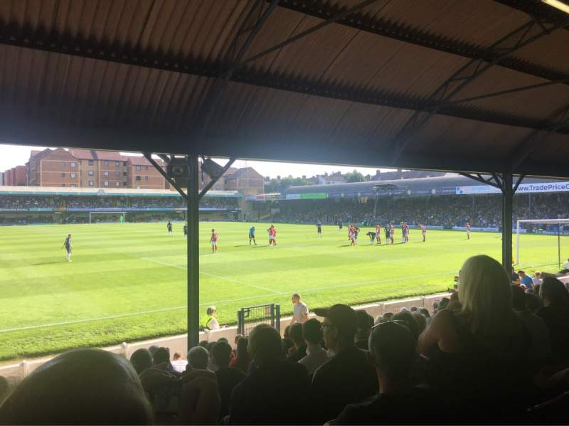 Seating view for Roots Hall Section NF Row P Seat 189