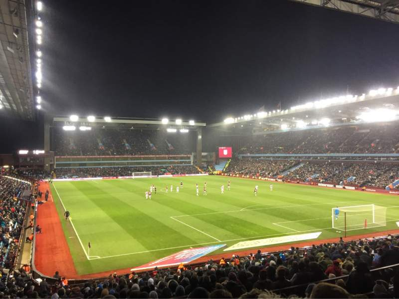 Seating view for Villa Park Section L8 Row KK Seat 211