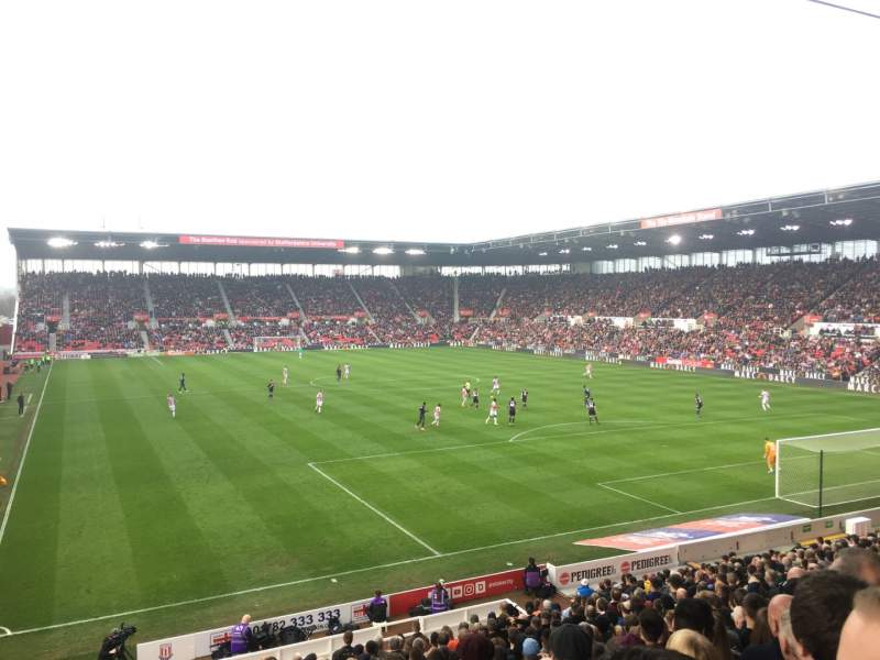Seating view for bet365 Stadium Section 42 Row 23 Seat 985
