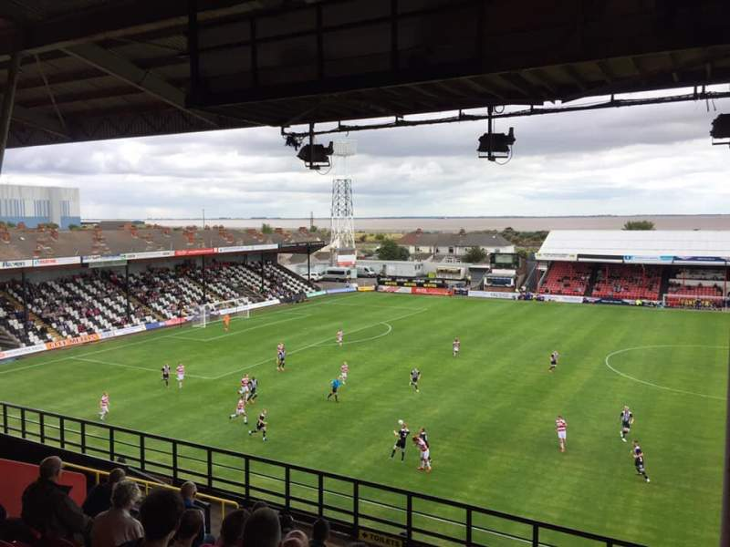 Seating view for Blundell ParkRow M Seat 60