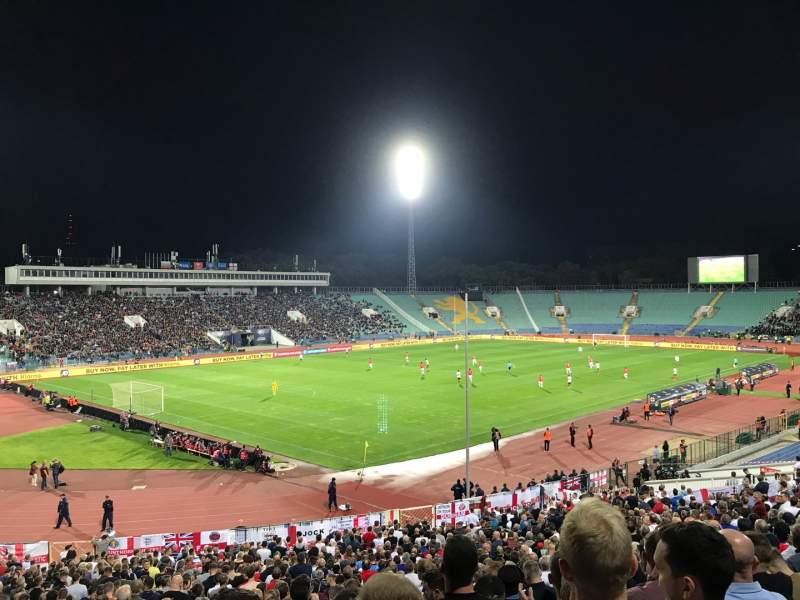 Seating view for Vasil Levski Stadium Section 44 Row 35 Seat 23
