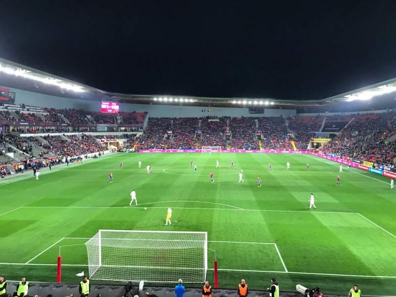 Seating view for Sinobo Stadium Section 124 Row 17 Seat 4