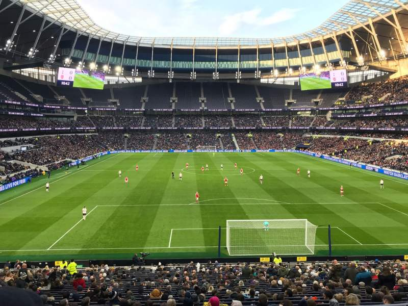 Seating view for Tottenham Hotspur Stadium Section 254 Row 32 Seat 233