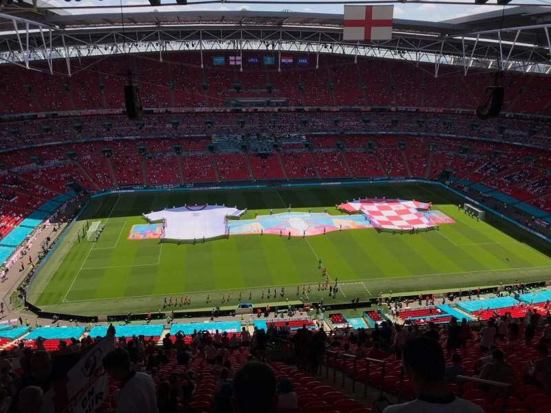 Seating view for Wembley Stadium Section 502 Row 33 Seat 49