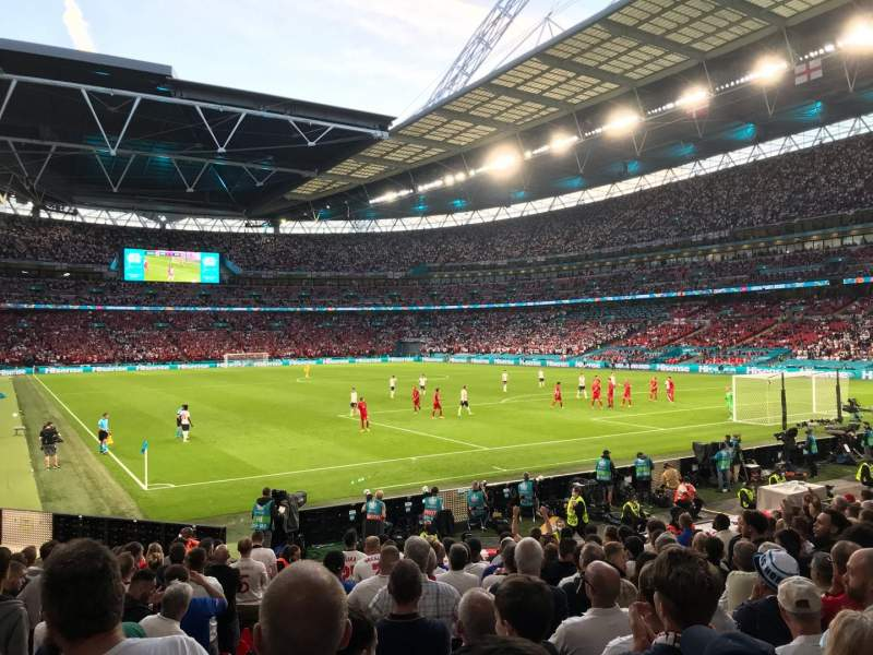 Seating view for Wembley Stadium Section 115 Row 16 Seat 93