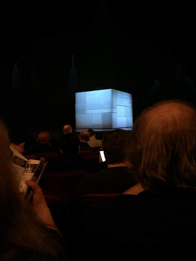 Seating view for Walter Kerr Theatre Section Orchestra Row H Seat 113