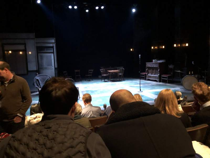 Seating view for The Newman Theater at the Joseph Papp Public TheatreRow F Seat 12