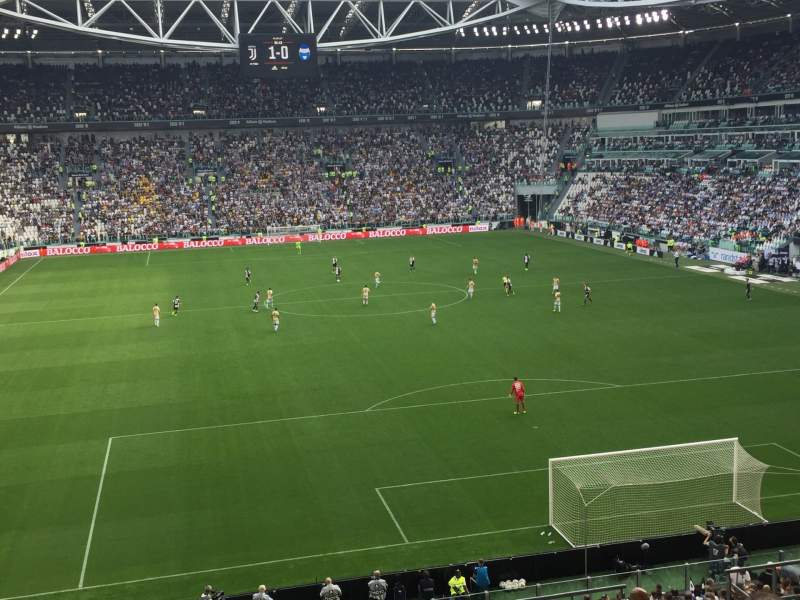 Seating view for Allianz Stadium (Turin) Section 109 Row 29 Seat 2