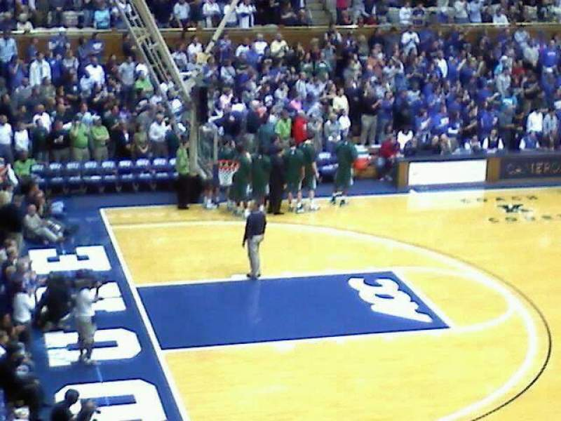 Seating view for Cameron Indoor Stadium Section 16