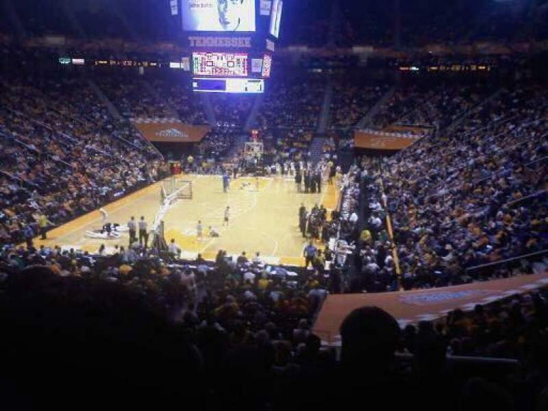 Seating view for Thompson-Boling Arena Section 311a
