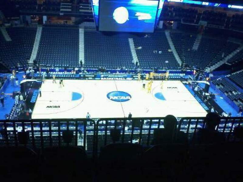 Seating view for Spectrum Center Section 226 Row F Seat 7