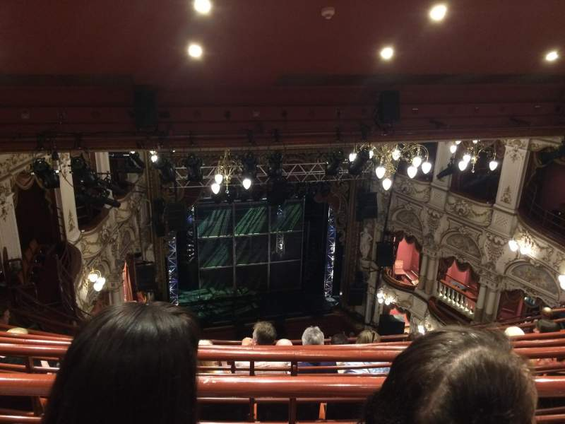 Seating view for Lyceum Theatre (Sheffield) Section Balcony Row J Seat 22