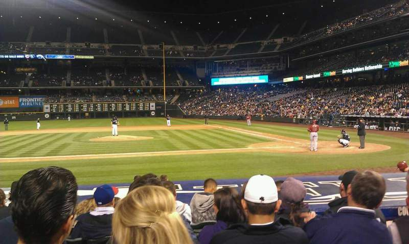 Seating view for Coors Field Section 137 Row 11 Seat 4