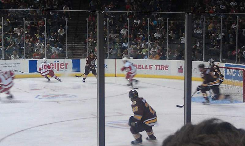 Seating view for Van Andel Arena Section 107 Row E Seat 11