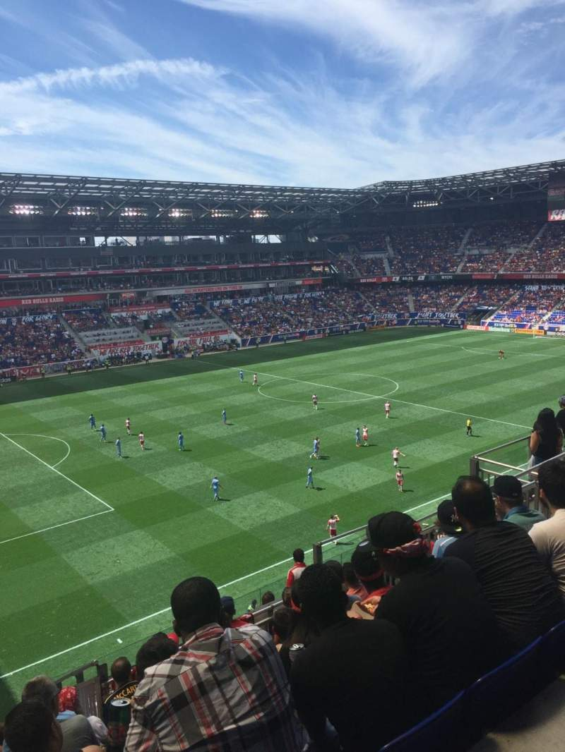 Seating view for Red Bull Arena Section 229 Row 11 Seat 20