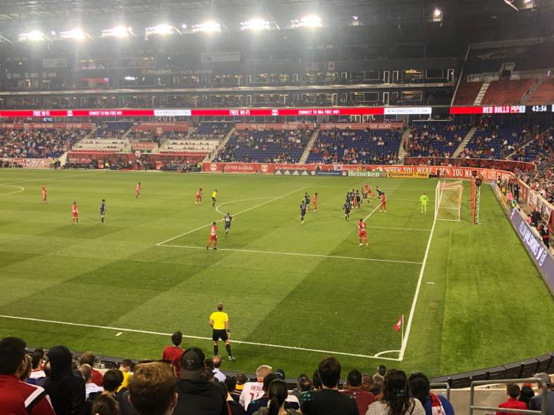 Seating view for Red Bull Arena (New Jersey) Section 123 Row 15 Seat 4