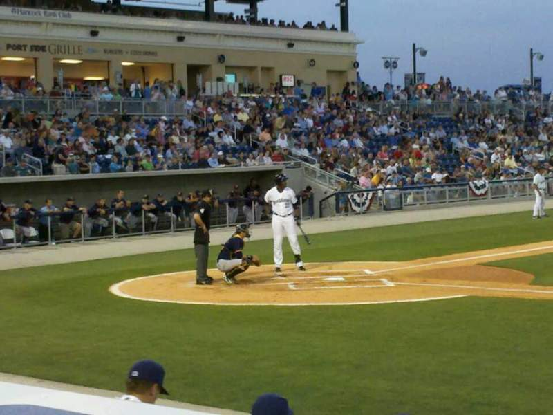 Seating view for Blue Wahoos Stadium Section 106 Row E Seat 10