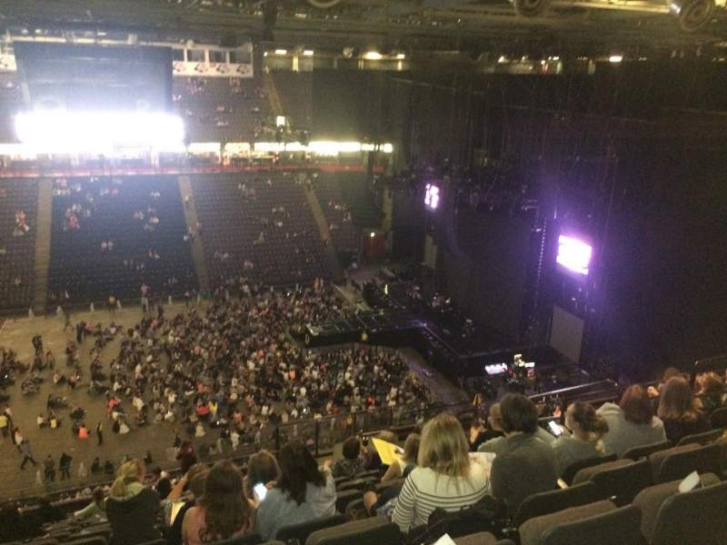 Seating view for Manchester Arena Section 214 Row R Seat 12