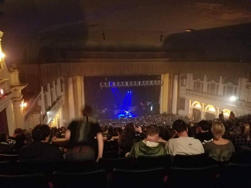 Seating view for Tower Theater Section Balcony Row J Seat 18
