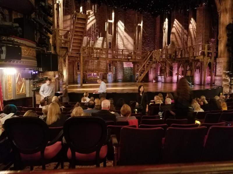 Seating view for Richard Rodgers Theatre Section ORCH Row L Seat 13