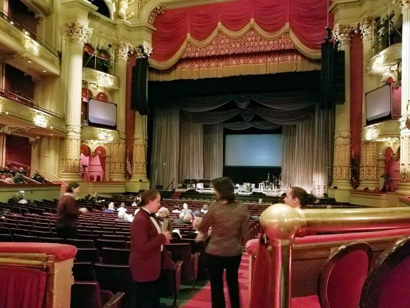 Seating view for Academy of Music Section Parquet Circle D Row T Seat 2
