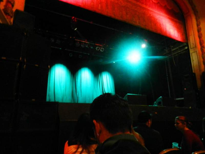 Trocadero Theater, section: PIT, row: 3, seat: 1