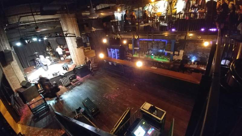 Voltage Lounge, section: Upstairs, row: 1, seat: 1