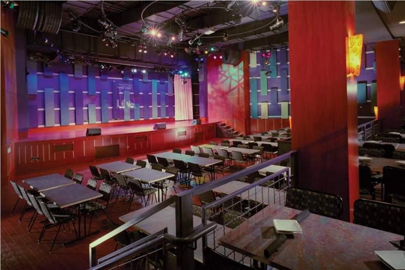 World Cafe Live, section: Downstairs Bar Level, row: 1, seat: 1