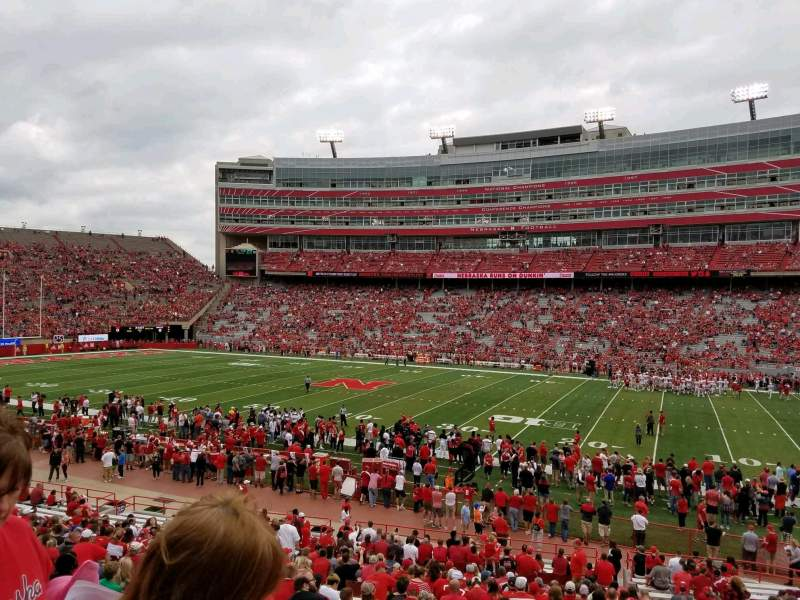 Seating view for Memorial Stadium (Lincoln) Section 3 Row 24 Seat 8
