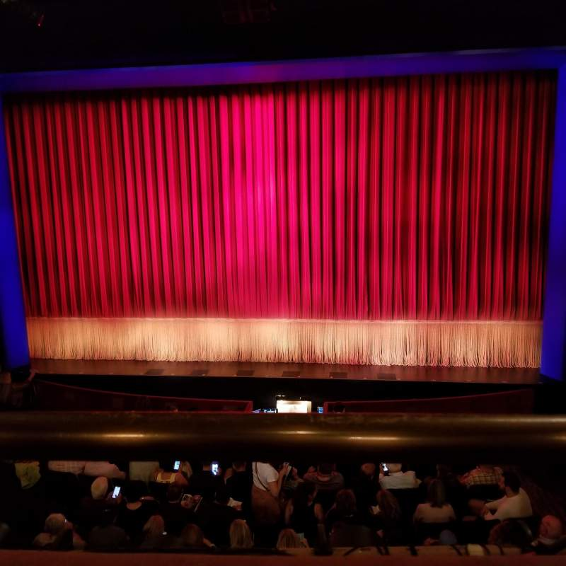 Seating view for Longacre Theatre Section Mezzanine C Row A Seat 104