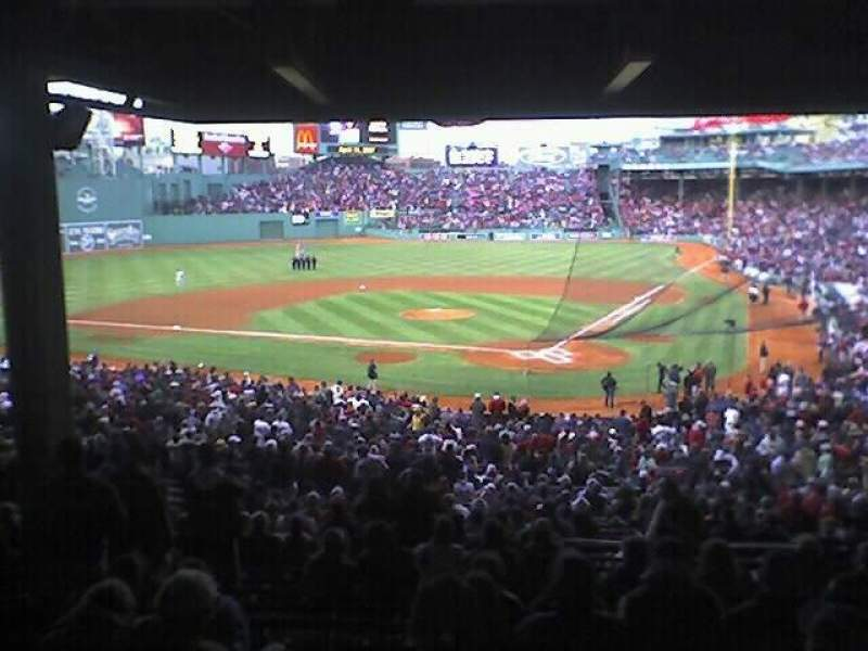 Seating view for Fenway Park Section Grandstand 23  Row 13 Seat 18