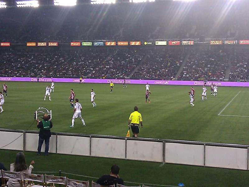 Seating view for Dignity Health Sports Park Section 108 Row F Seat 10