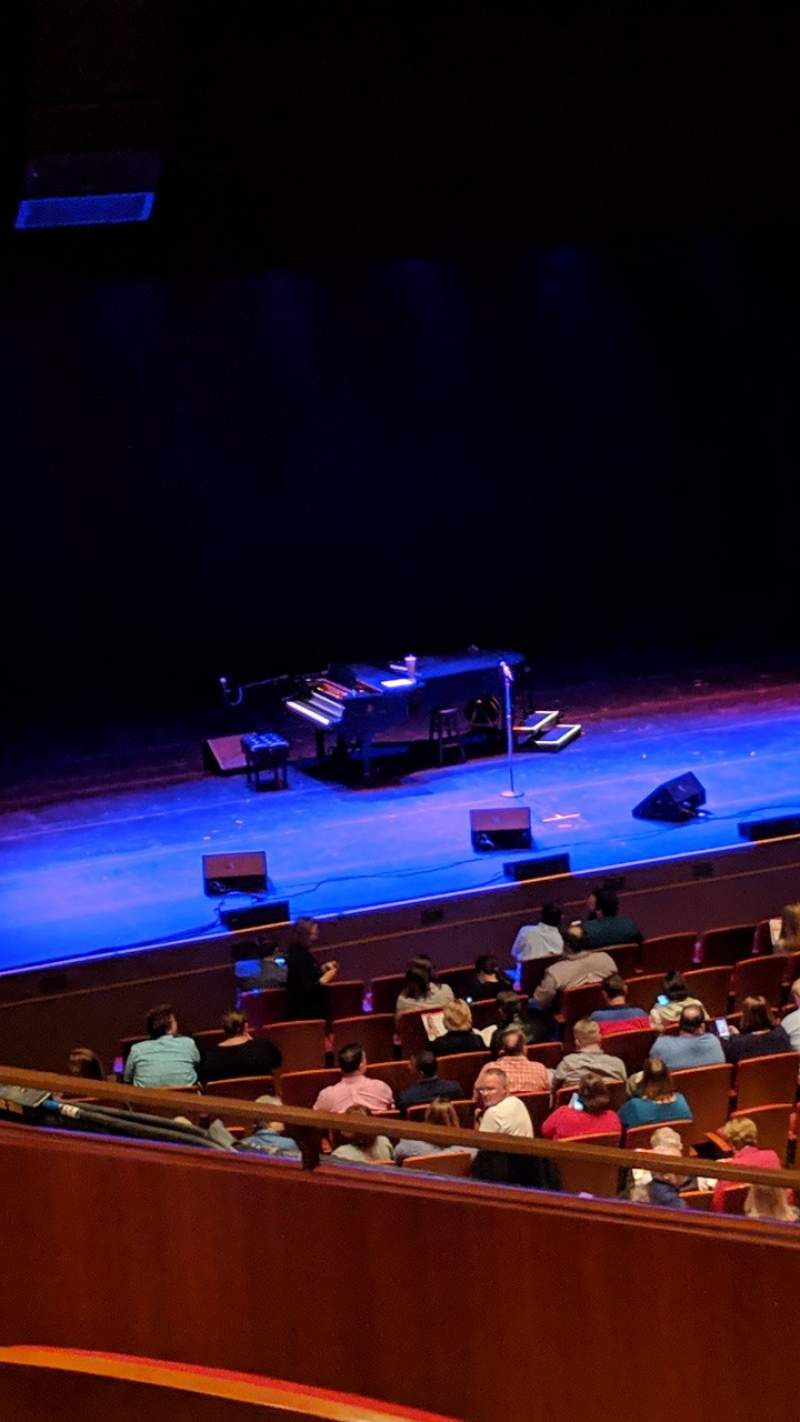 Seating view for Cobb Energy Performing Arts Centre Section L-FTMZ Row C Seat 59