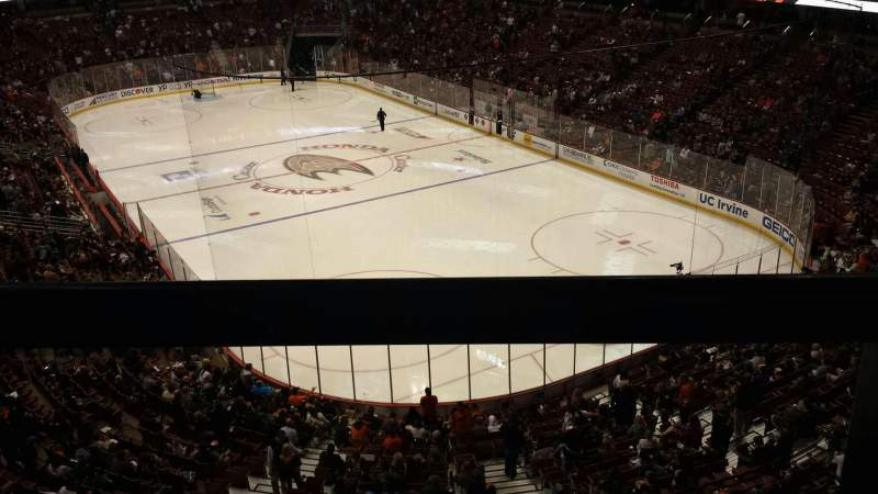 Seating view for Honda Center