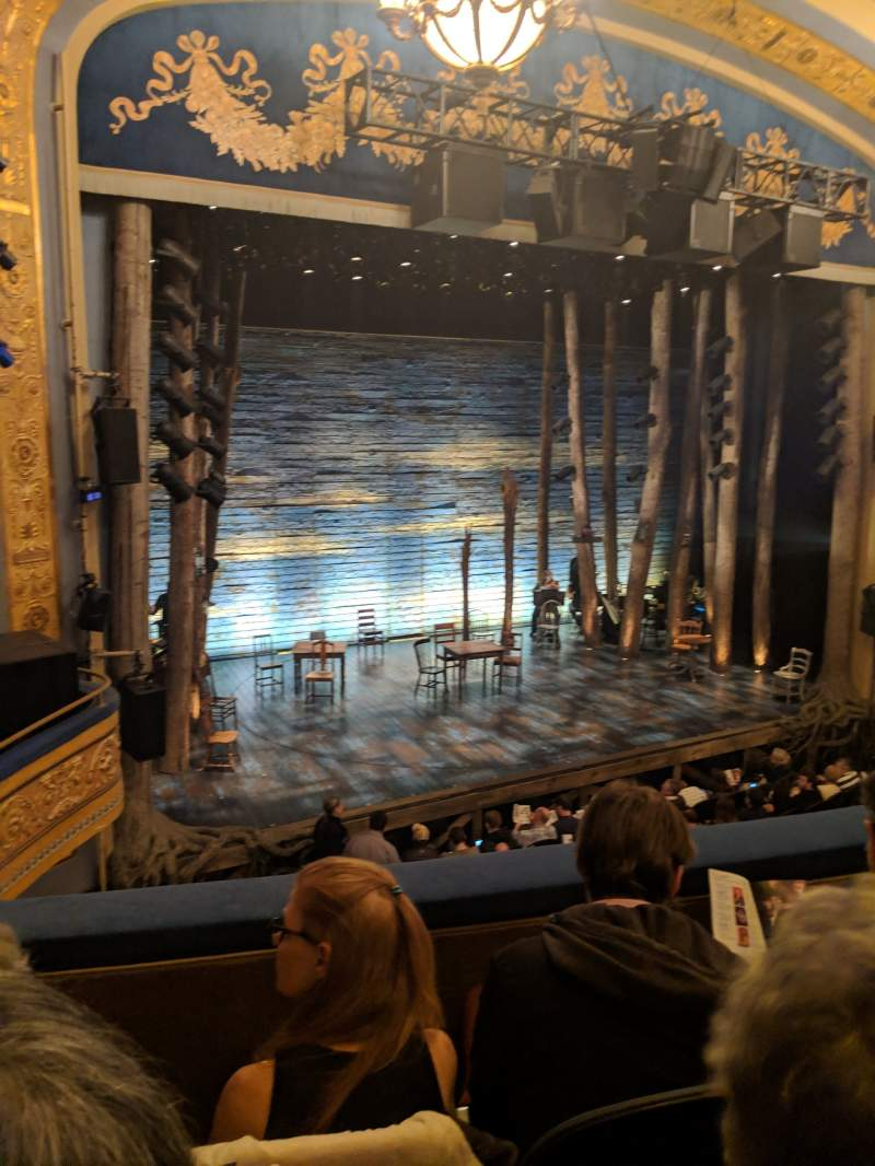 Seating view for Gerald Schoenfeld Theatre Section Mezzanine L Row C Seat 13