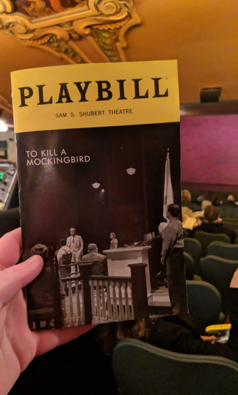 Seating view for Shubert Theatre Section Standing Room Seat 105