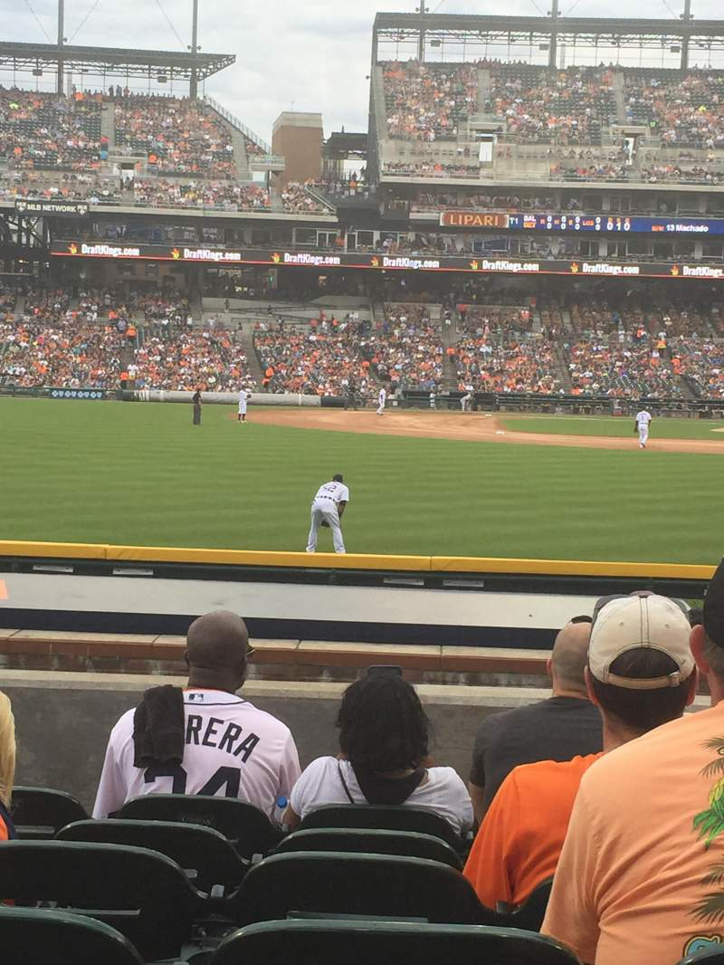Seating view for Comerica Park Section 148 Row G Seat 21