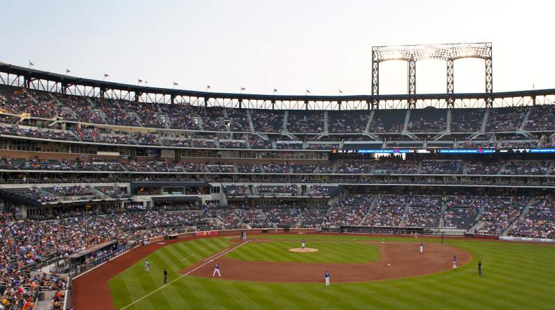 Seating view for Citi Field Section 301 Row 1