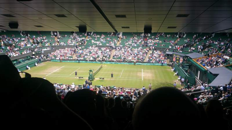 Seating view for Wimbledon, Centre Court Section 502 Row ZA Seat 25
