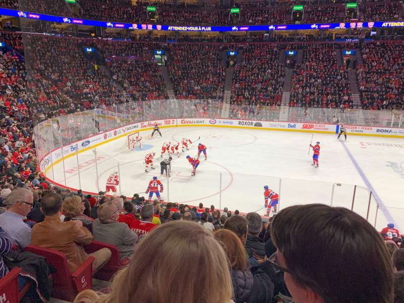 Seating view for Centre Bell Section 102 Row K Seat 14