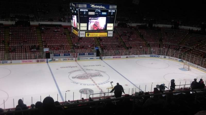 Seating view for Joe Louis Arena Section 209 Row 18 Seat 10