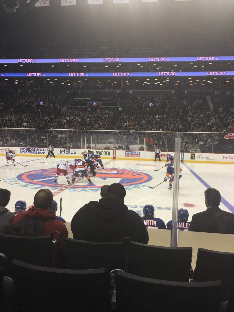 Seating view for Barclays Center Section 6 Row 6 Seat 8