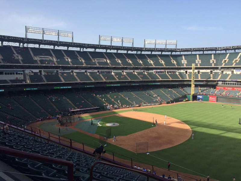 Globe Life Park in Arlington, section: 238, row: 12, seat: 1