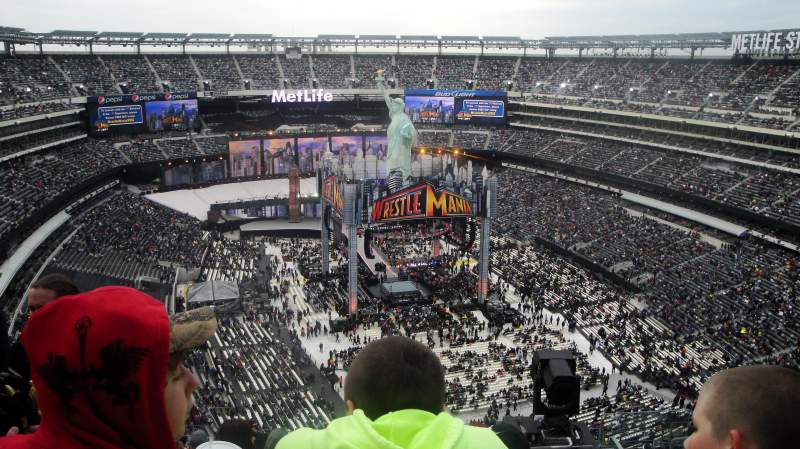 Seating view for MetLife Stadium Section 329 Row 19 Seat 5