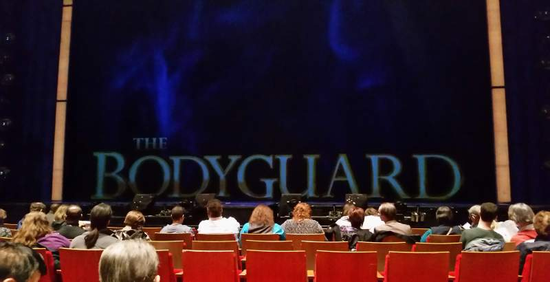 Durham Performing Arts Center, section: 3, row: H, seat: 106