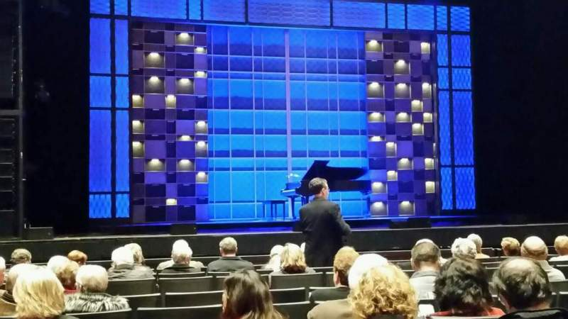 Chrysler Hall, section: Orchestra, row: G, seat: 36