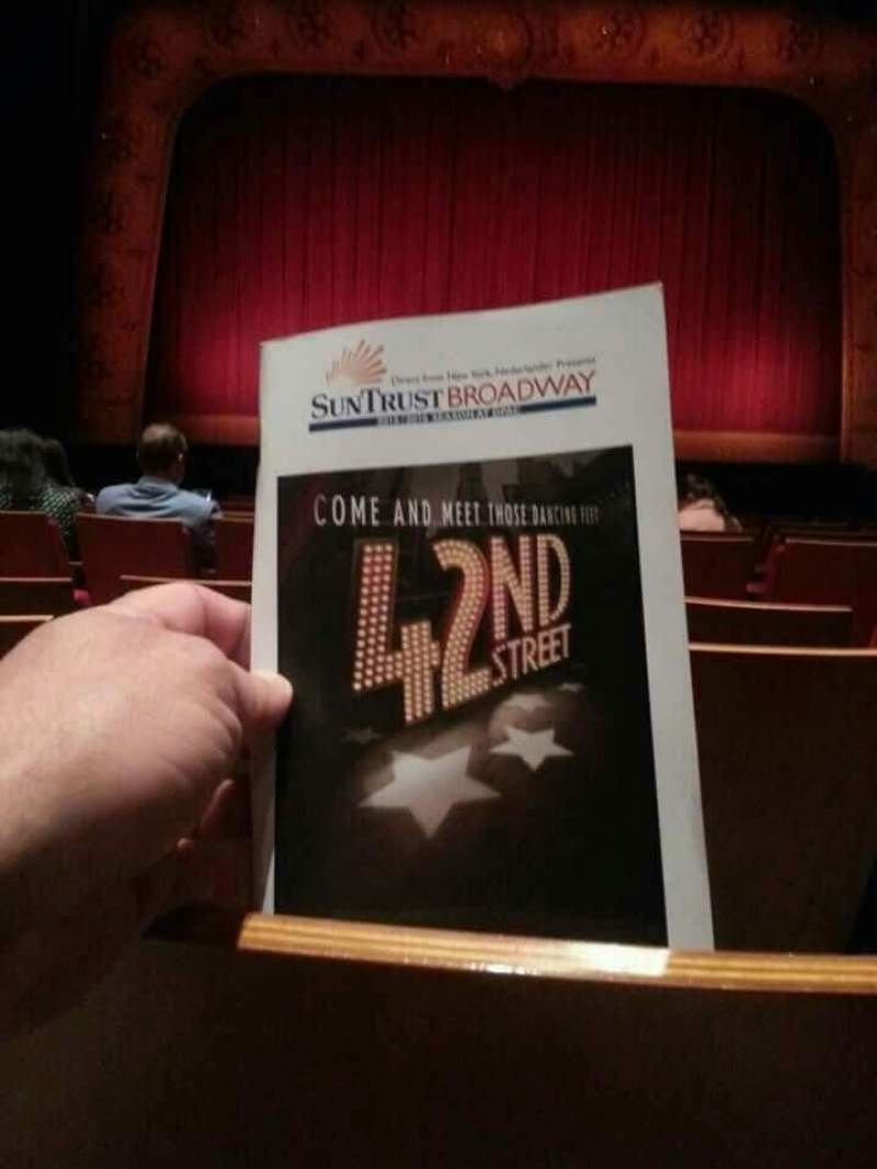 Seating view for Durham Performing Arts Center Section Orchestra 3 Row H Seat 111