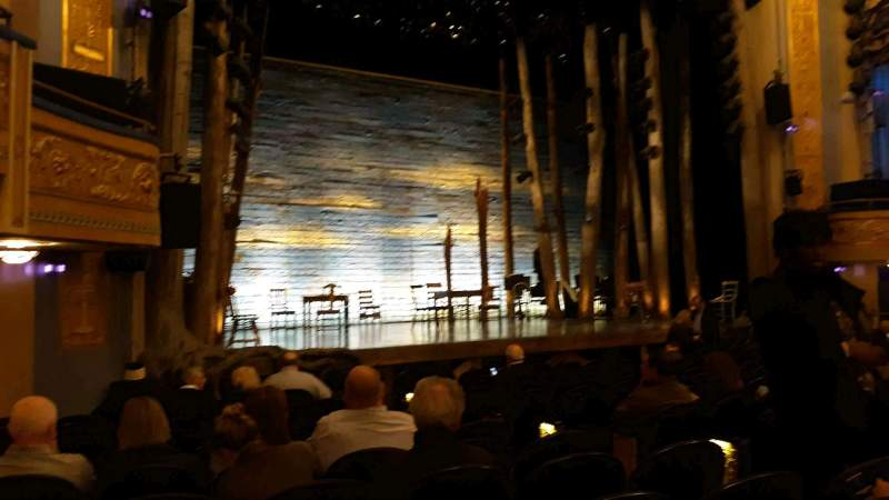 Seating view for Gerald Schoenfeld Theatre Section Orchestra L Row L Seat 13